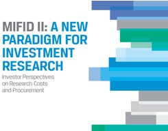 MiFID II: A New Paradigm for Investment Research Report Cover Image