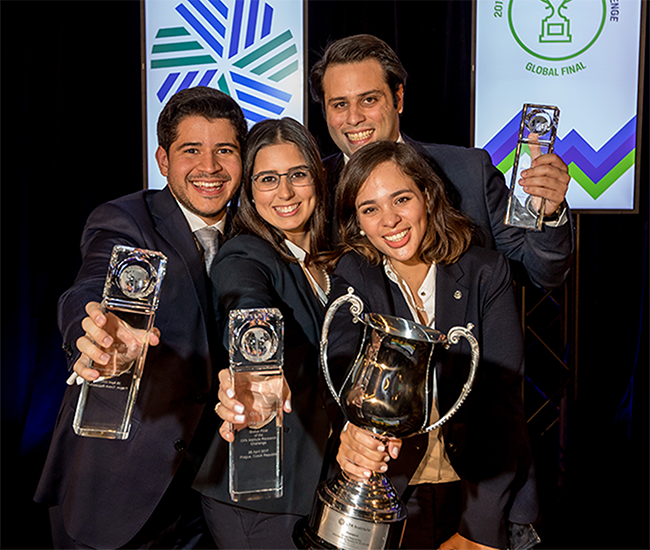 Congratulations to the 2017 Global Final and Americas Regional Champions, Barna Business School, Dominican Republic